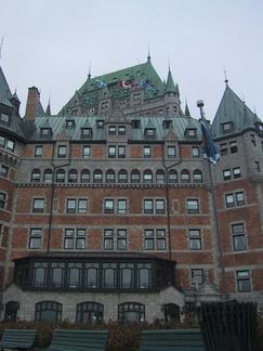 Chateau de Frontignac à Quebec