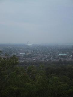 Vue de Monteral depuis le Mont Royal