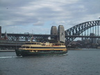Le ferry vers Manly